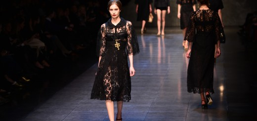 FASHION-ITALY-MILAN-WOMEN-DOLCE & GABBANA