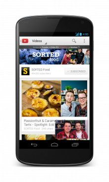 33 Screenshot Nexus4 EN 220x367 YouTube for Android gets a UI redesign, picture in picture functionality, playlist search support, and more