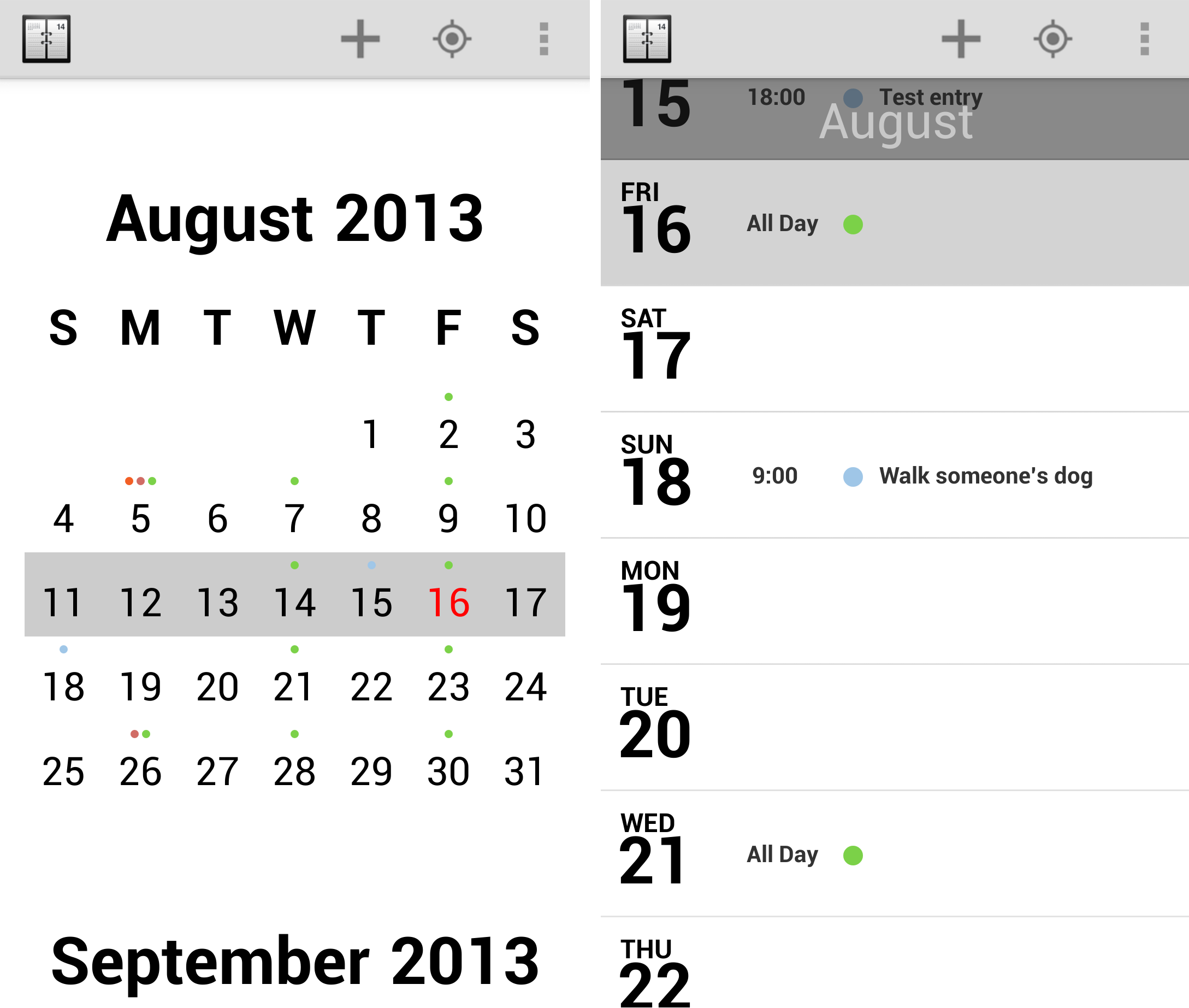 Agenda 12 of the best calendar apps available for your Android smartphone today