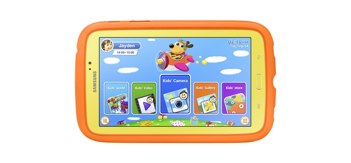 GALAXY Tab 3 Kids 1 Samsung launches colorful Galaxy Tab 3 Kids, for your little ones