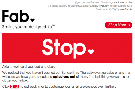 a7 No means no: The quest to curb marketing spam when youve already opted out