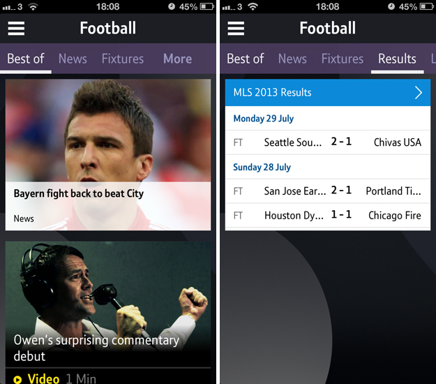 btsport4 A cord cutters dream: BT Sport for iOS serves up live streaming, highlights, news and more