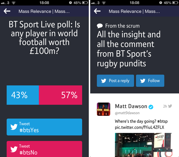 btsport5 A cord cutters dream: BT Sport for iOS serves up live streaming, highlights, news and more