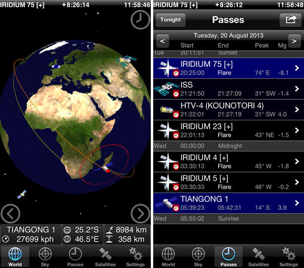 gosatwatch The final frontier: 10 iOS apps for astronomers, stargazers and amateur space explorers