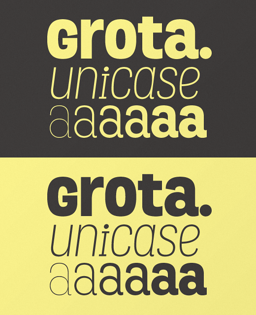 grota 28 of the most beautiful typefaces released last month