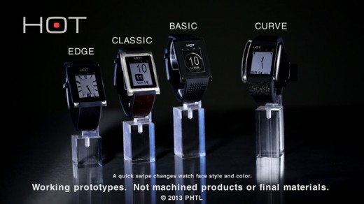 hotwatch 520x292 The HOT smartwatch turns your palm into a phone