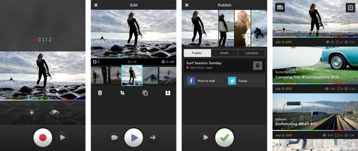 screen568x568 horz 730x309 MixBit is a new video remix app from YouTube co founders Steve Chen and Chad Hurley