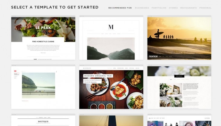 squarespace 730x418 The 15 best blogging and publishing platforms on the Internet today. Which one is for you?