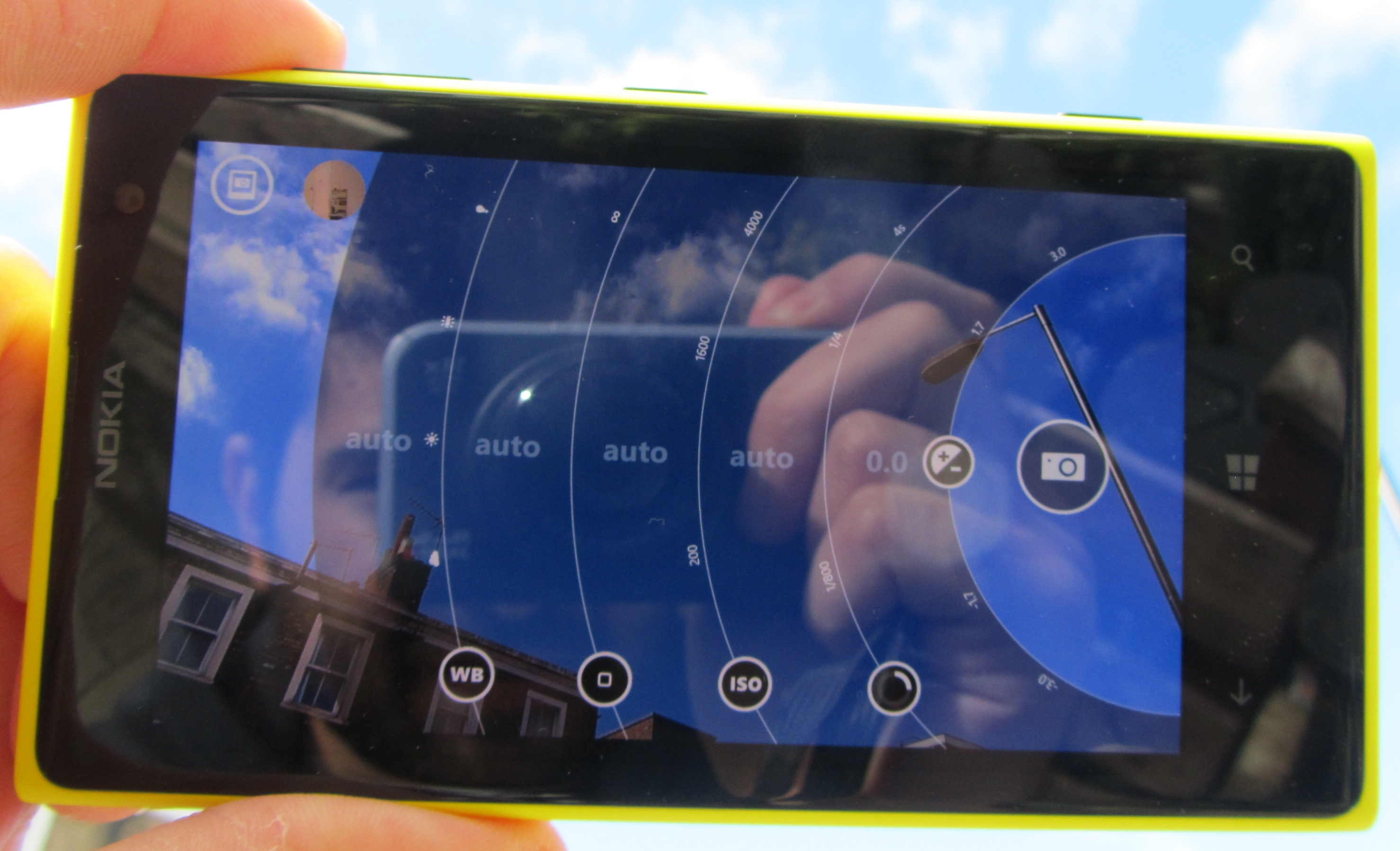 1020 Pro mode Nokia Lumia 1020 review: The best camera phone, but not the best smartphone