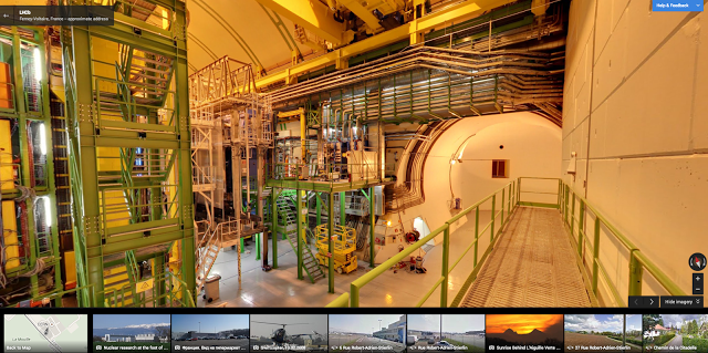CERN streetView Peering into the Large Hadron Collider: Google Street View arrives at CERN