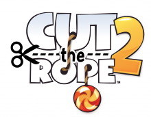 CTR2 Logo Vert 220x171 Cut the Rope 2 will arrive with more candy filled, physics based conundrums before the year is over