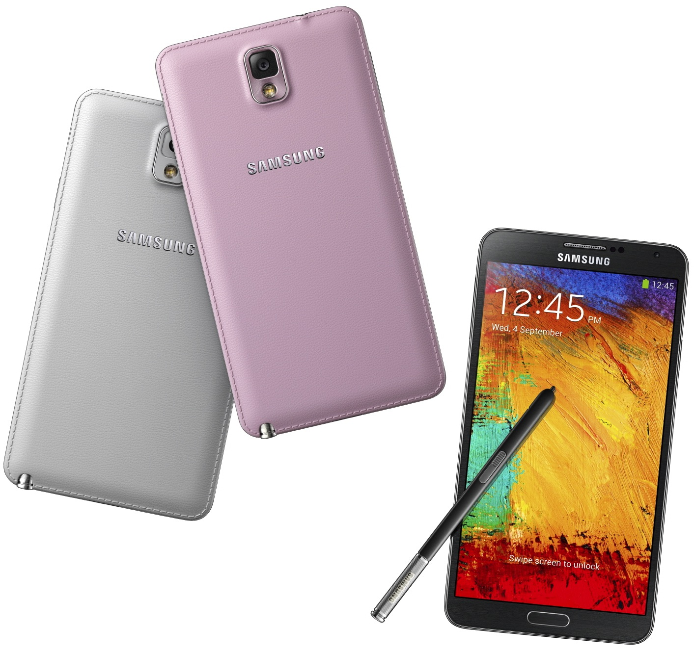 Galxy Note3 030 set1 Samsung launches the Galaxy Note 3: 5.7 1080p display, Android 4.3, 13MP camera and new S Pen features