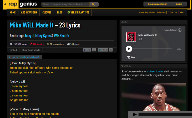 Rap Genius 730x451 50 New York City startups you need to know about