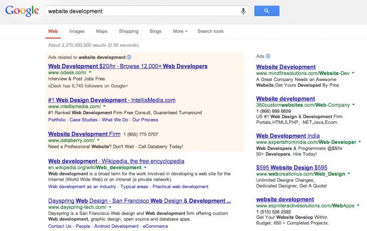 Screen Shot 2013 09 26 at 3.53.39 PM 730x459 Google turns 15: Here are 10 milestones that have shaped its search program