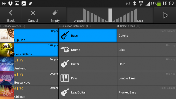 Screenshot 2013 09 09 15 52 32 730x410 Music Maker Jam for Android is an incredibly fun way to mix and make music