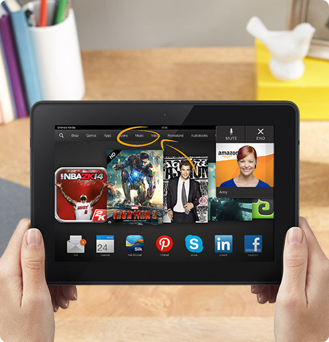 feature cs. V357418975  Amazon announces the Kindle Fire HDX, its latest 7  and 8.9 inch tablets