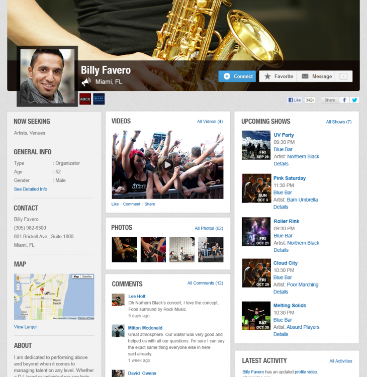 profilePromoters 730x750 Music industry matchmakers Giggem now wants to match bands with venues and promoters