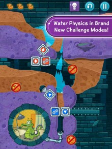 s1 waterphysics ipad english 220x293 Where's My Water? 2 arrives on iOS and Windows devices for free with Facebook support and more