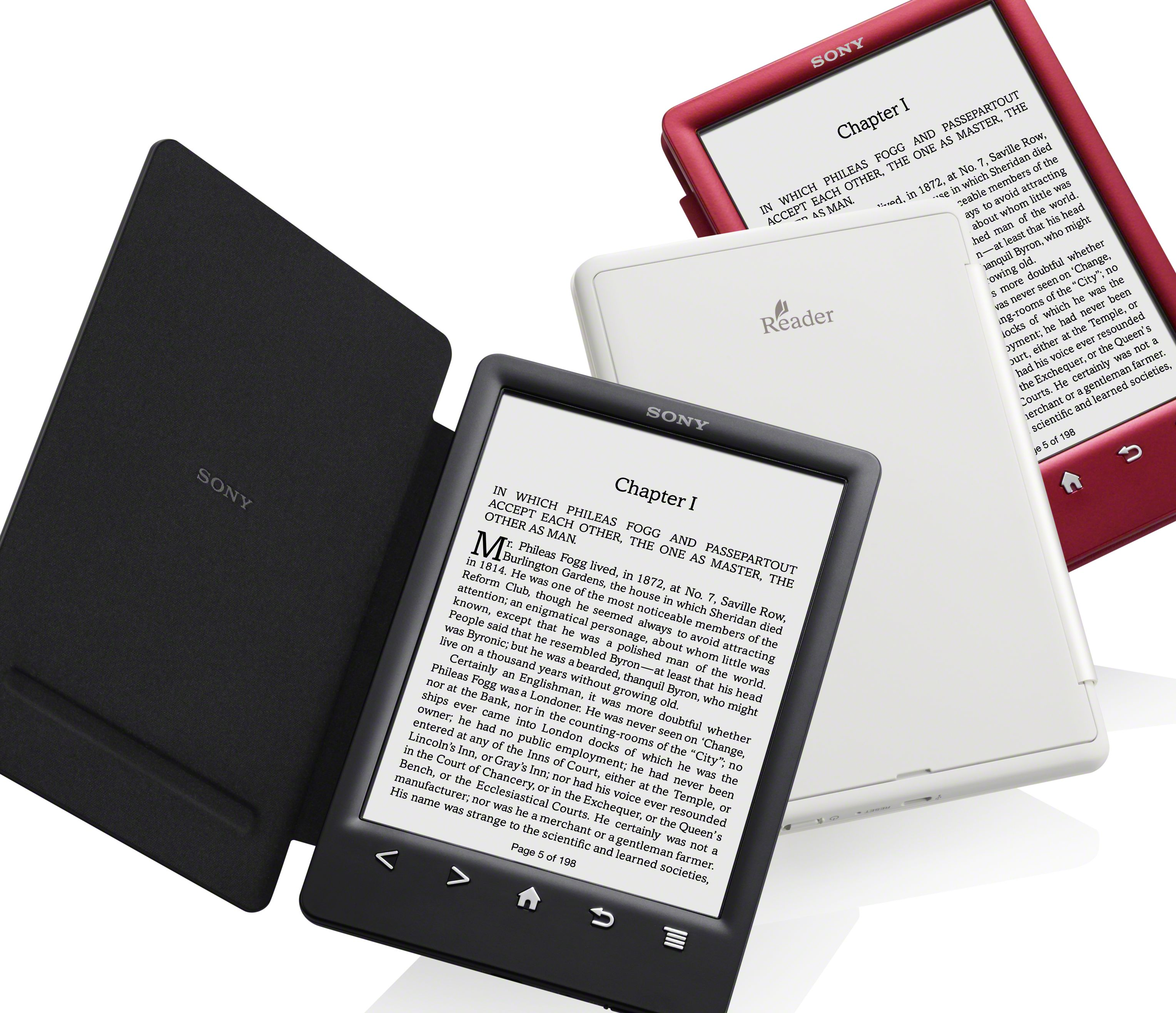 t32 Sony launches Reader PRS T3 with colorful snap covers to combat Amazons new Kindle Paperwhite