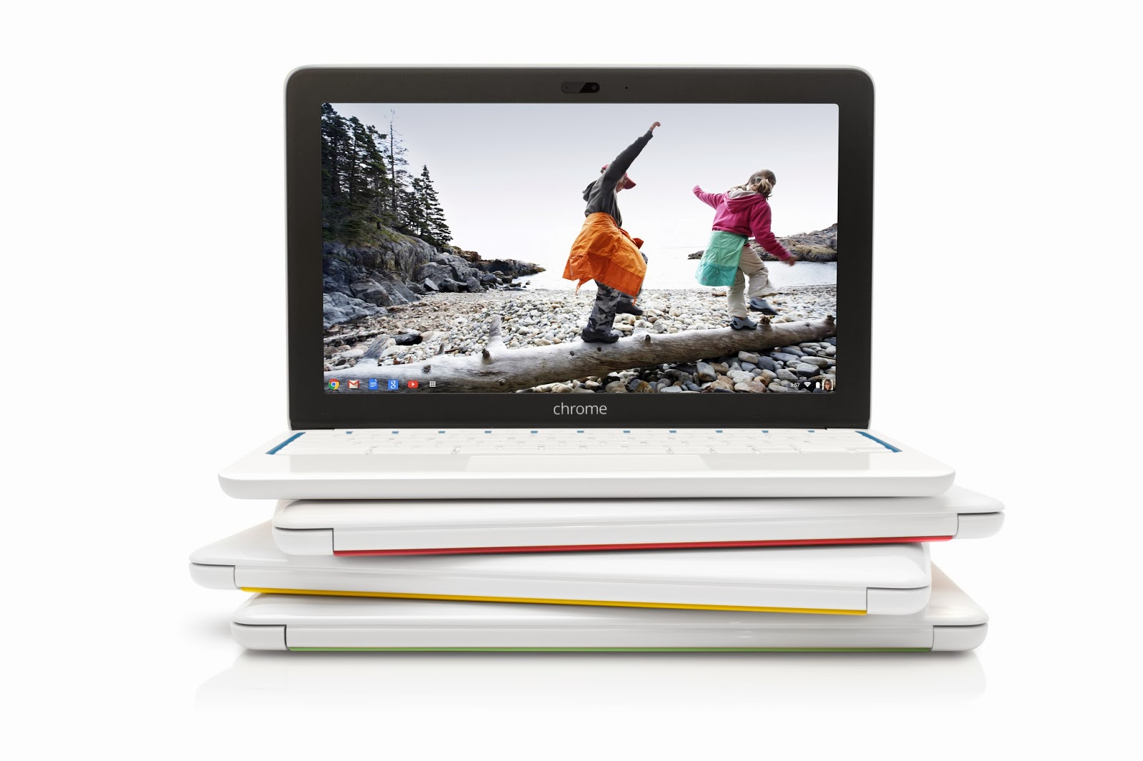 8 HP Chromebook 11 Color Stack1 The HP Chromebook 11 is a 2.3lb Chrome OS laptop with Micro USB charging for $279.99