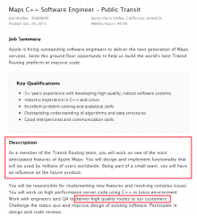 Apple transit ad1 220x241 Job listing hints Apple is working on adding public transit directions to Maps
