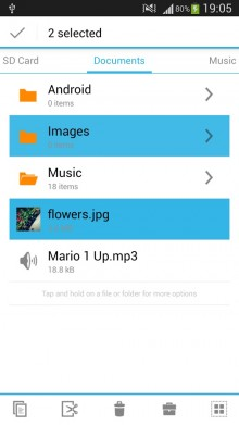 File Manager 220x391 The 40 Must Have Android Apps for the Power User