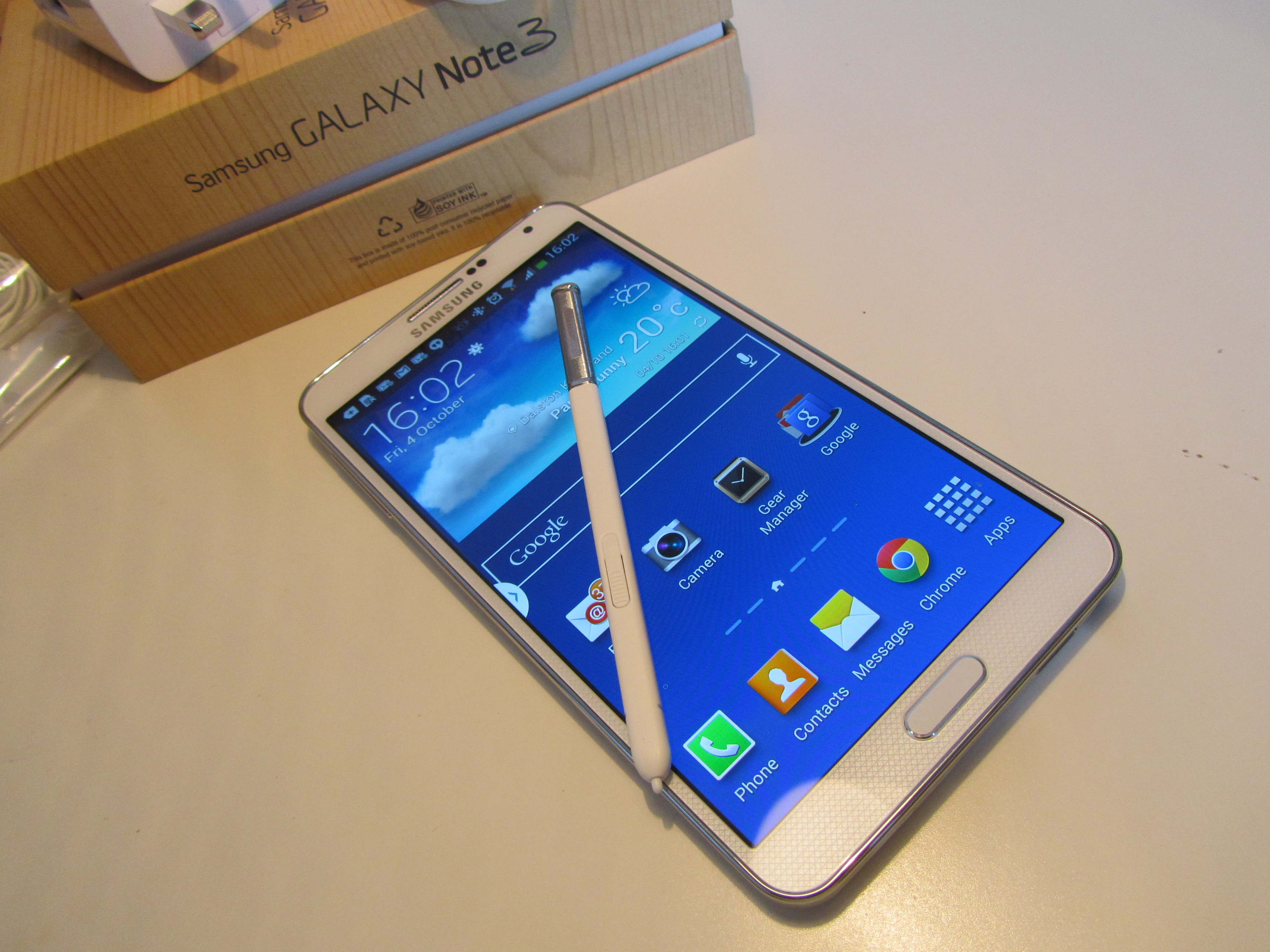 Note3 SPen Samsung Galaxy Note 3 review: One of the best Android handsets money can buy, if you can hold it