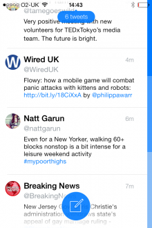 a2 220x330 Tweet7: A clean, no fuss iPhone Twitter client built with iOS 7 in mind