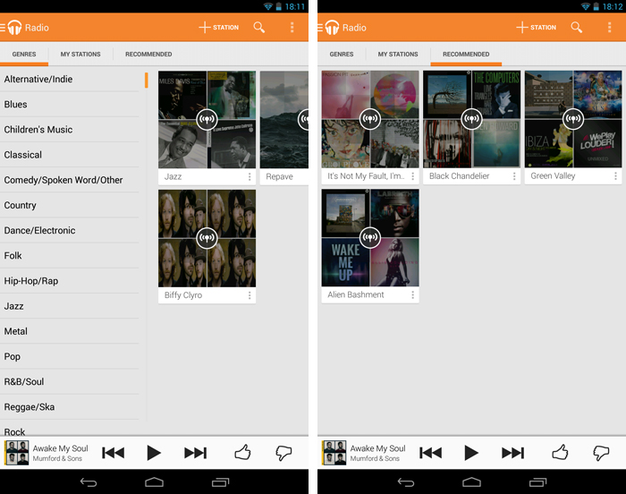 androidradio An in depth guide to Google Play Music All Access