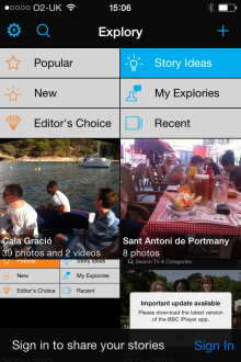 f2 220x330 Explory is a multimedia storytelling app from the creators of Flash