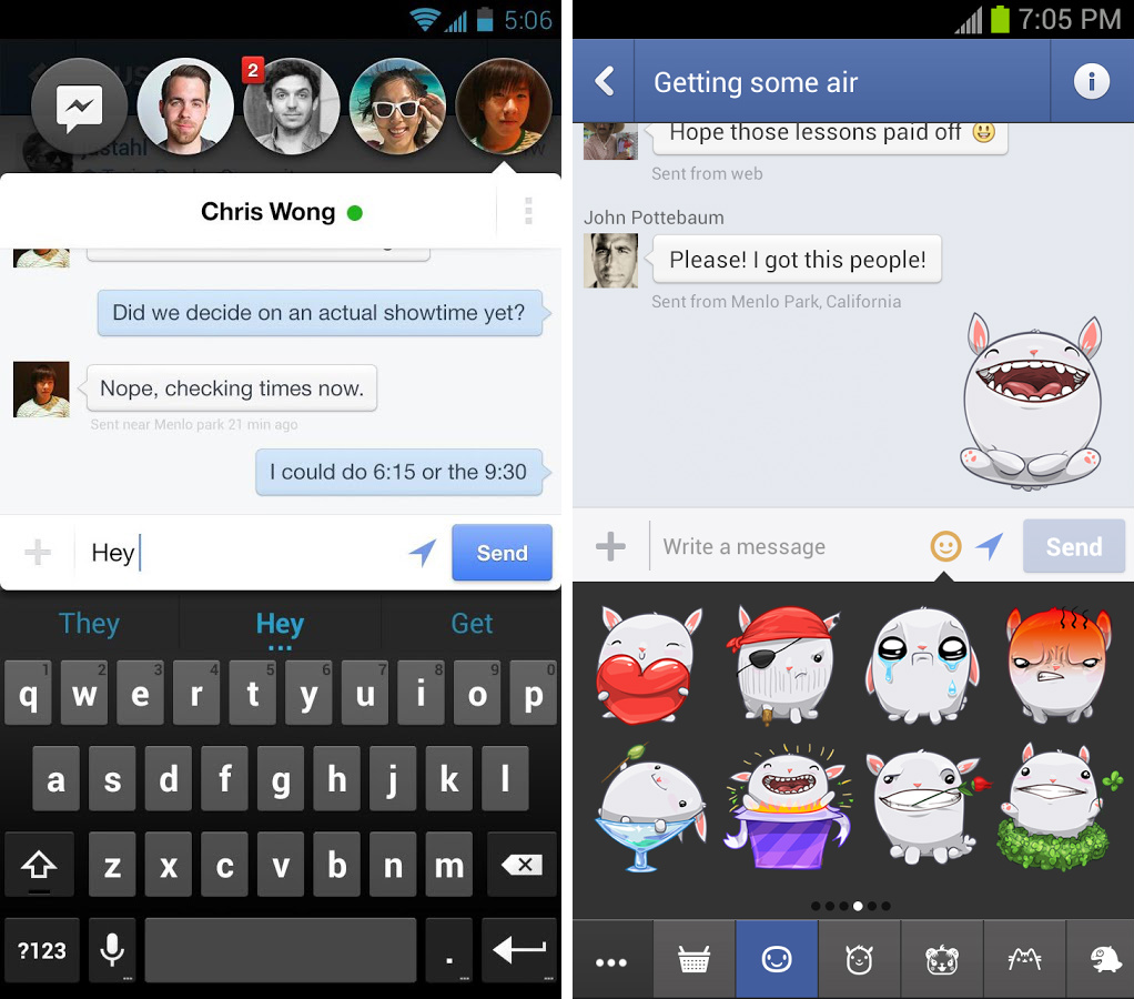 how to download multiple photos from facebook messenger