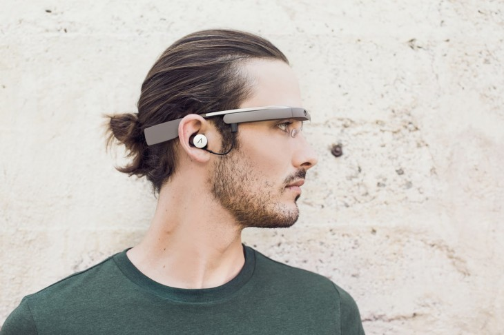 googleglass 2 730x486 This is what the new Google Glass looks like [Photos]