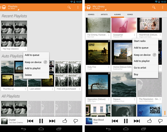 keepondevice An in depth guide to Google Play Music All Access