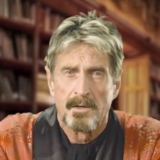 mcafee John McAfee doesnt open links in emails until hes phoned the sender to verify them