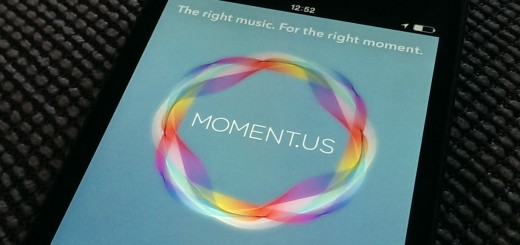 moment us 520x245 Moment.us for iOS wants to play you the right song for right now