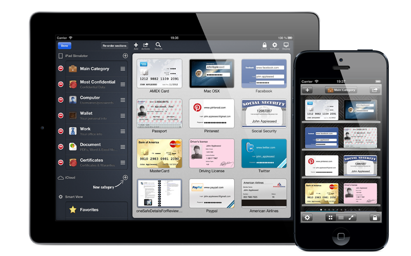 oneSafe iOS images 02 10 of the best multi platform password managers for iOS, Android and the desktop