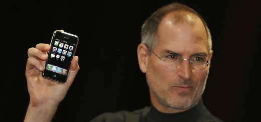 Apple chief executive Steve Jobs unveils