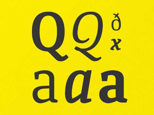 quiroga serif 520x390 20 of our favorite typefaces from this past month