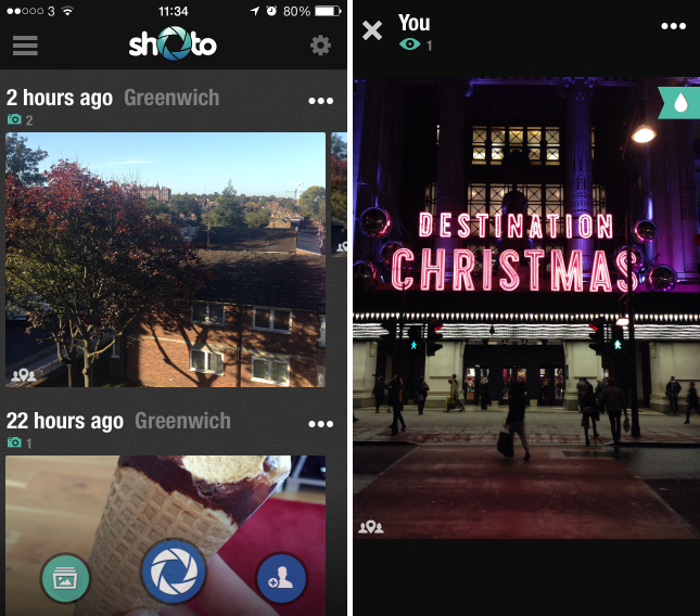shoto1 Shoto for iOS and Android automatically creates secure, shared photo albums for you and your friends