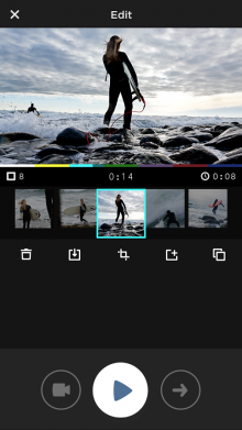 unnamed 220x391 MixBit, the video remix app from YouTube co founders Steve Chen and Chad Hurley, is now available on Android