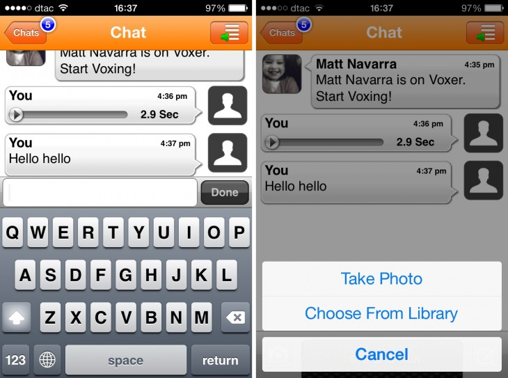 voxer1 730x543 22 of the best mobile messaging apps to replace SMS on your smartphone