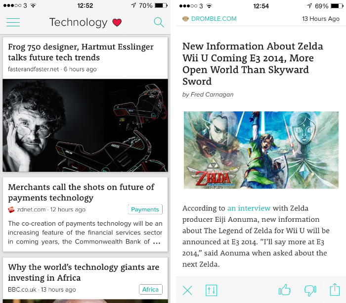 zite2 10 must have iPhone apps for keeping on top of the news
