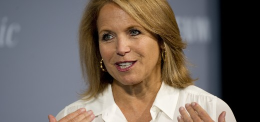 Katie Couric of ABC News speaks during t