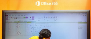 Microsoft Launches Office 2013 In New York's Bryant Park