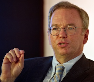 164124318 Googles Eric Schmidt thinks government censorship will be wiped out within ten years