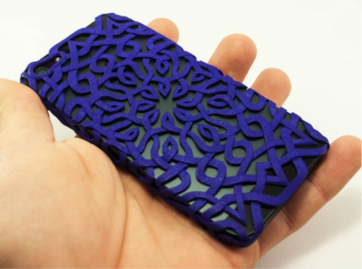 3D Printed Smartphone Case 520x386 15 of the best 3D printed items from 2013