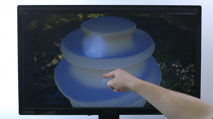 Leap Motion Freeform 2 730x407 Leap Motion unveils Free Form, a 3D sculpting app, and previews its new gesture tracking software