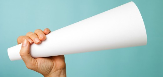 Megaphone paper 520x245 Why you should brag (just a little more) about your accomplishments
