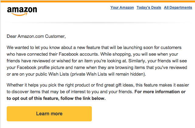 Screen shot 2013 11 13 at PM 04.18.51 Amazon leverages Facebook to boost your social shopping experience with public wishlists and more