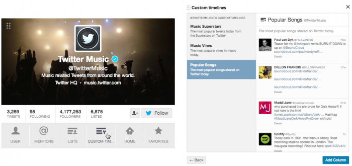 access custom timelines Twitter announces Custom Timelines, lets users curate collections of tweets on any subject